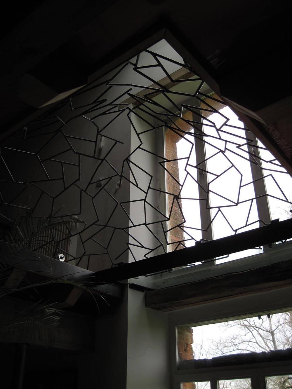 pyramide puits de jour 4 eidos atelier de ferronnerie. Black Bedroom Furniture Sets. Home Design Ideas