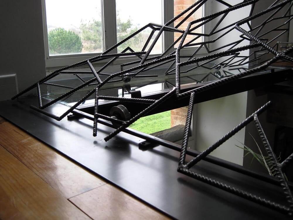 pyramide puits de jour 5 eidos atelier de ferronnerie. Black Bedroom Furniture Sets. Home Design Ideas